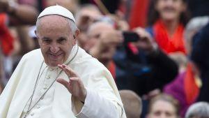 Påve Franciskus 26 oktober 2016.