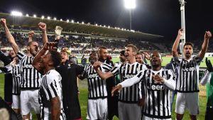 Juventus är mästare i Italien.
