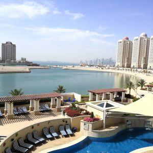 Semesterparadis i Qatar.