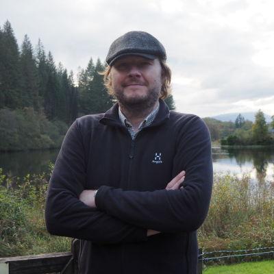 Greg Kain i Queen Elizabeth forest park 15.10.2019