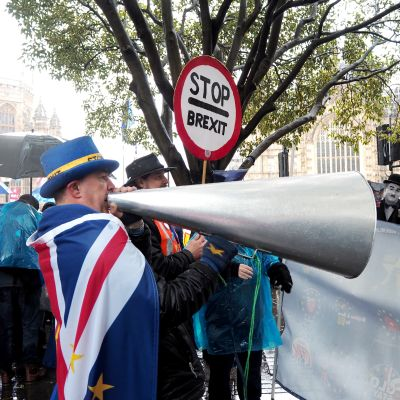Brexit demonstration