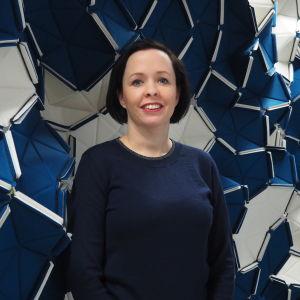 Direktör Emelie Gardberg på Finlands institut i London