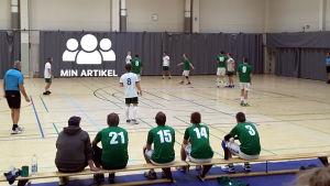 Handbollsmatch mellan EIF och Grifk.