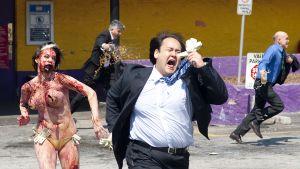 I filmen Zombieland är zombierna ganska humoristiska