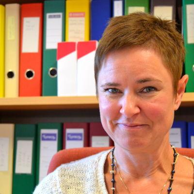Sofia Svartsjö, överläkare för samarbetsområdet för primärvården i Korsholm och Vörå