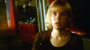 Sanna Liljander Kaija Juurikkalan lyhytelokuvassa Rosa was Here.