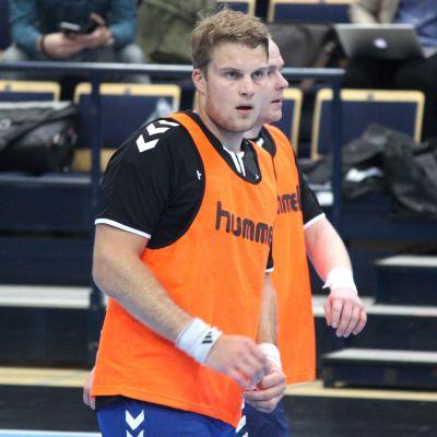 Richard Sundberg inför kvalmatchen mot Österrike.