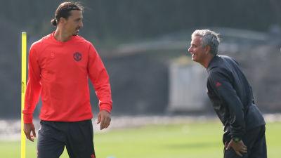 Mourinho bekraftar vill att zlatan stannar