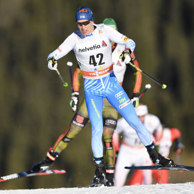 Matti Heikkinen år 2016 i Davos.