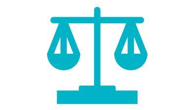 Symboli-kuva, jossa vaaka.