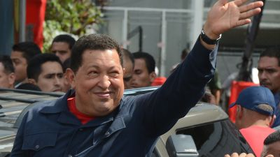 Chavez staller in pa grund av regn