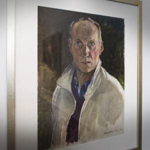 Självporträtt av Lennart Segerstråle.
