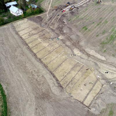 Kokemäen Villiönsuvannossa on tehty merkittäviä rautakautisia löytöjä asutuksesta