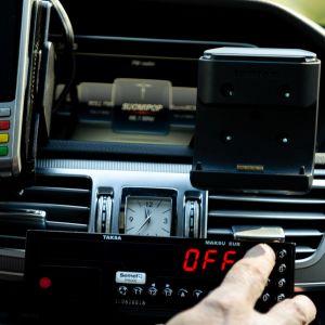 Taksinkuljettaja Ari Lipposen viimeinen työpäivä.