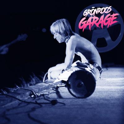 The Stooges kollage från SGoose Lake 1970 med Grönroos garage logo.