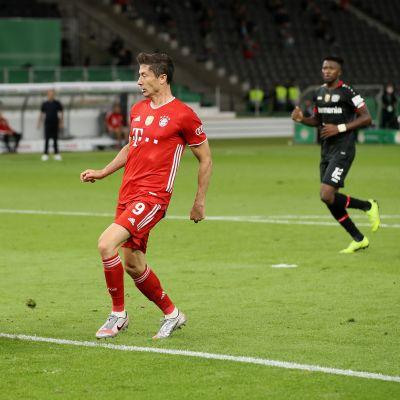 Bayern vei Saksan cupin, Hradecky pettyi