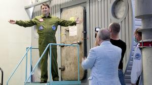 Mars500:n ovi suljettiin 3. kesäkuuta 2010.