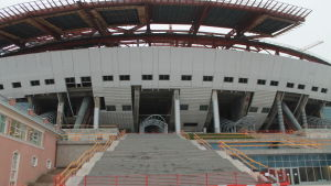 Stadion i St Petersburg