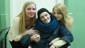 Alisa, Aleksej och Katja