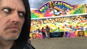 Lasse Grönroos på Rockfest i Hyvinge 7.6.2018.