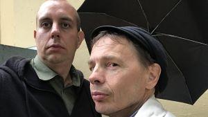 Robert Kock och Tomas Jansson.