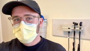 Ian Haydon i Seattle deltog i Modernas vaccinstudie.