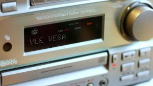 Bild på radioapparat.