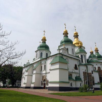 Sofiakatedralen i Kiev.