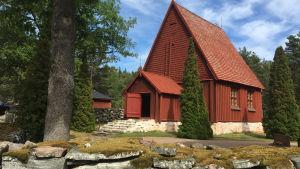 Sottunga kyrka exteriör