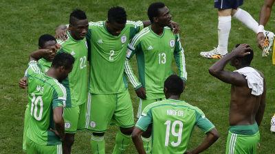 Nigeria vann trots turbulens i laget