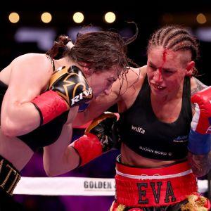 Eva Wahlström boxas mot Katie Taylor