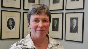 Borgå gymnasiums rektor Monica Johansson