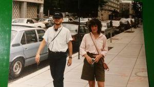 Tansssijat Jens Walentinsson ja Vivianne Budsko viettivät kesän 1983 Italian La Speziassa.