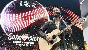 Australiens Eurovisionsrepresentant Guy Sebastian.