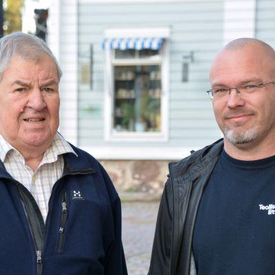 Roger Turku och Daniel Hannus
