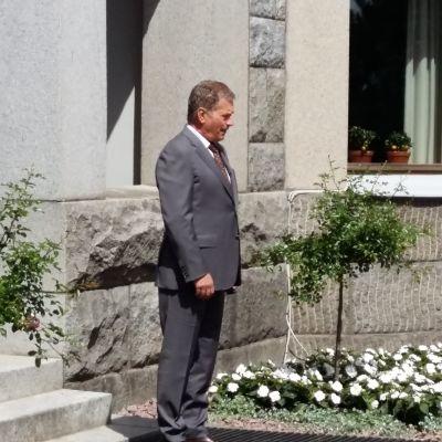 President Sauli Niinistö på Gullranda