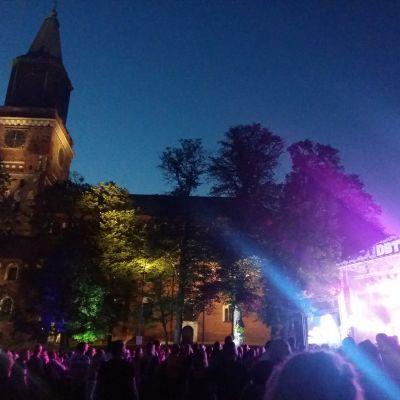 DBTL järjestettiin Turun Tuomiokirkon kupeessa kesällä 2019.