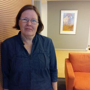 Päivi Vepsä är sakkunnig vid Talentia, fackorganisationen för högutbildade inom socialbranschen