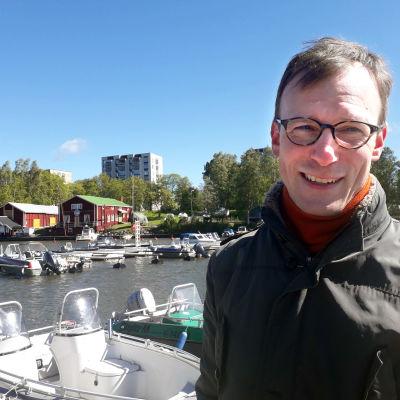Filosofen Kim-Erik Berts.