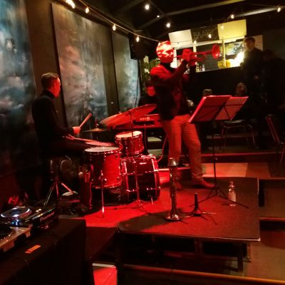Jazzkonsert i sal.