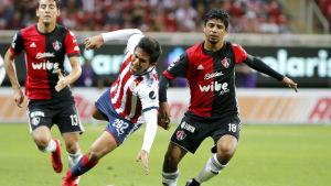 Luis Enrique Robles i mexikanska ligan.