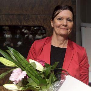 Päici Myllärinen får Riksdagens innovationspris för kvinnor.