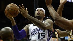 DeMarcus Cousins spelar för Sacramento Kings i NBA.