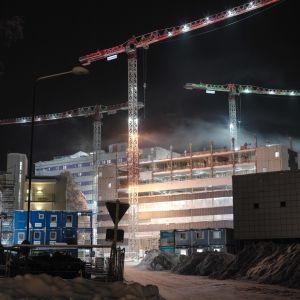 Oulun uusi sairaala rakkenus