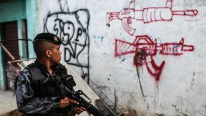 Polisvåld i Brasilien