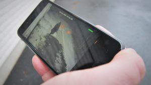 Inbrottstjuv fastnar på övervakningskamera.