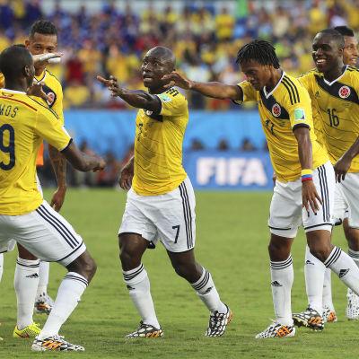 Juan Cuadrado och Colombia under VM 2014