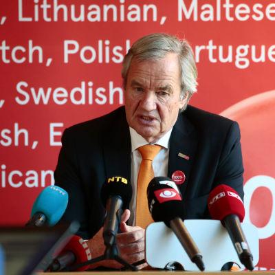 Bjørn Kjos, vd för Norwegian