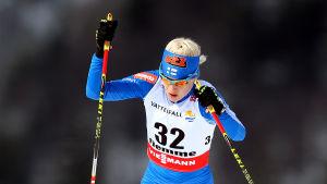 Kaisa Mäkäräinen, skid-VM 2013.