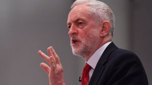 Labourpartiets ledare Jeremy Corbyn